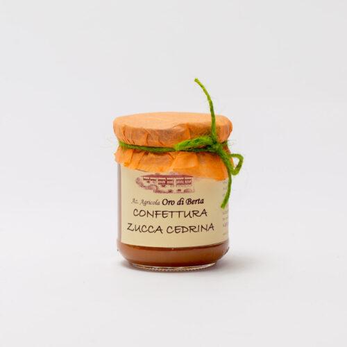 Oro di Berta Confettura zucca cedrina